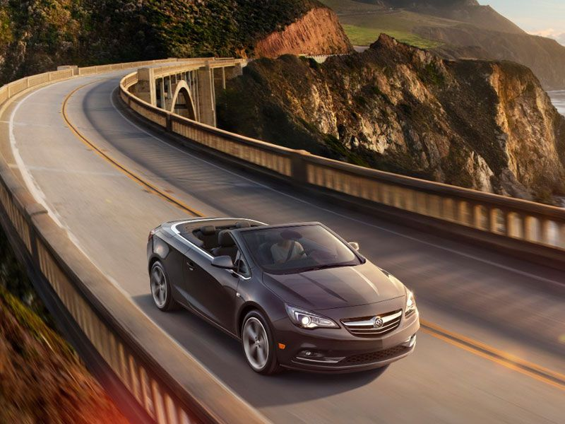 2016 Buick Cascada on the road