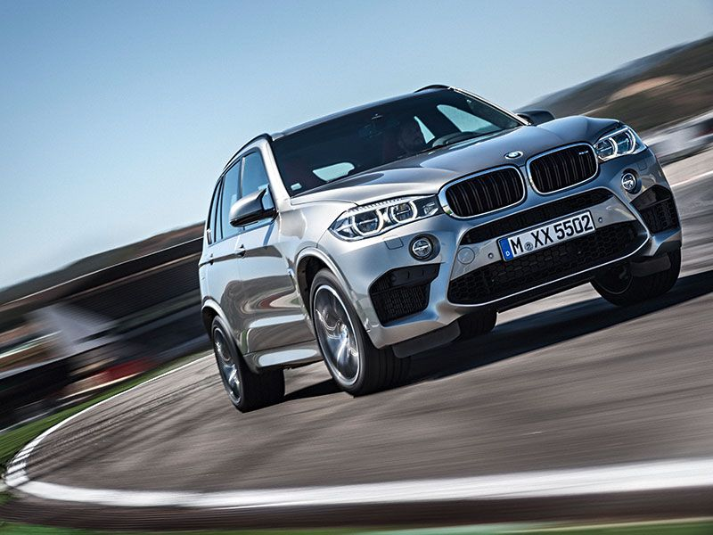 2016 BMW X5 M in motion