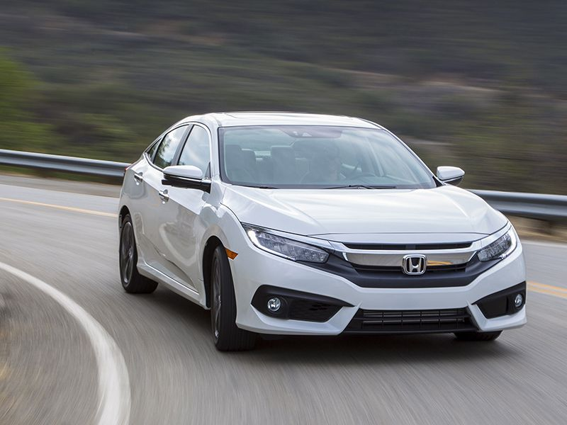 10 most comfortable compact cars for Honda small car
