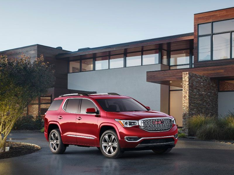 2017 GMC Acadia Road Test and Review
