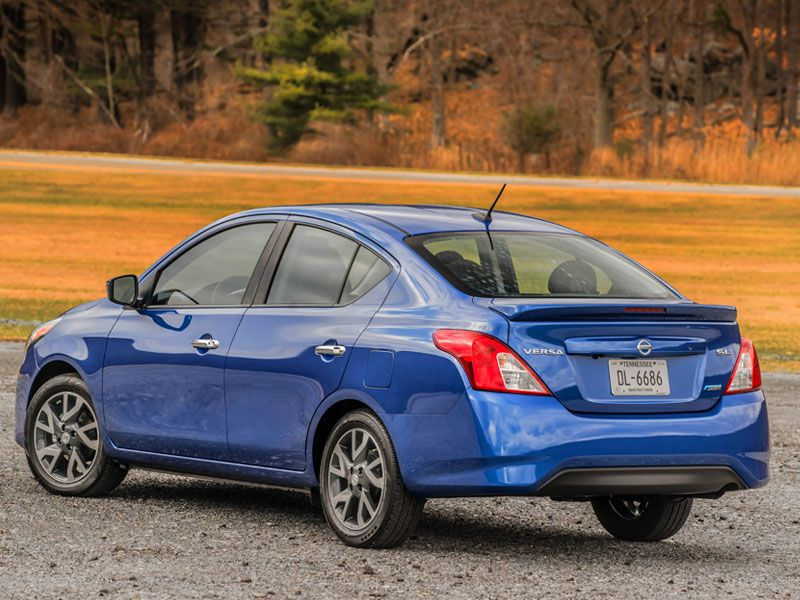 2016 Nissan Versa SV Road Test and Review