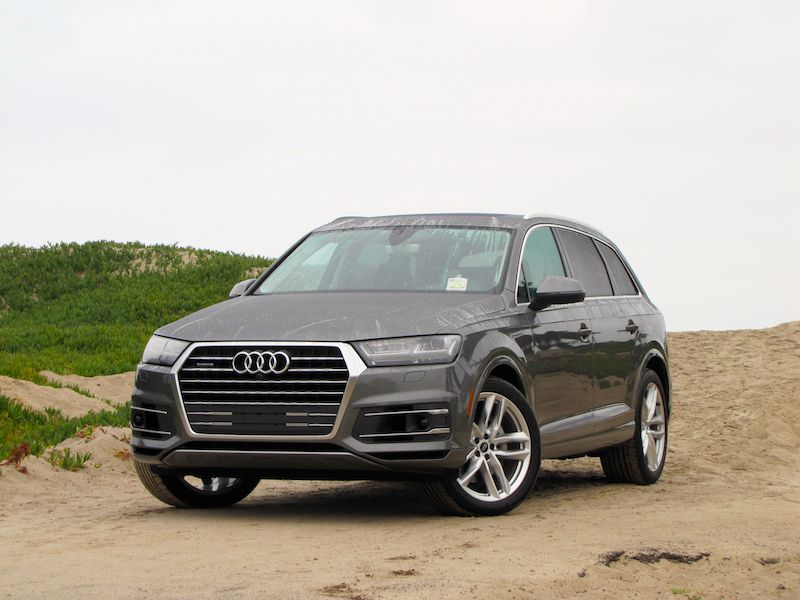 2017 audi q7 road test and review. Black Bedroom Furniture Sets. Home Design Ideas