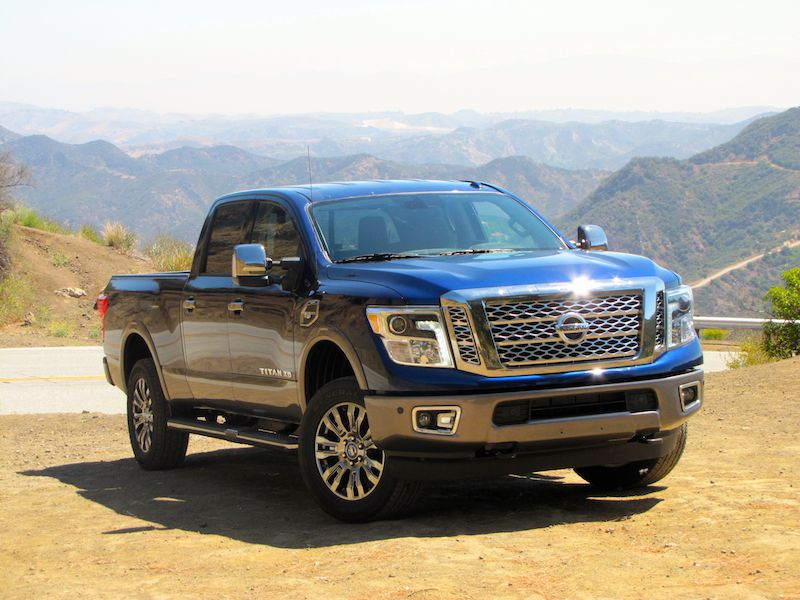 10 Things You Need to Know About the 2016 Nissan Titan XD Gas Platinum