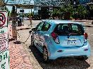 2016 Chevrolet Spark EV rear view charging