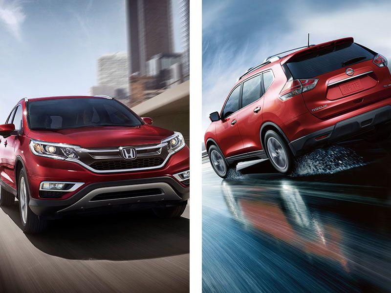 Honda CRV vs. Nissan Rogue