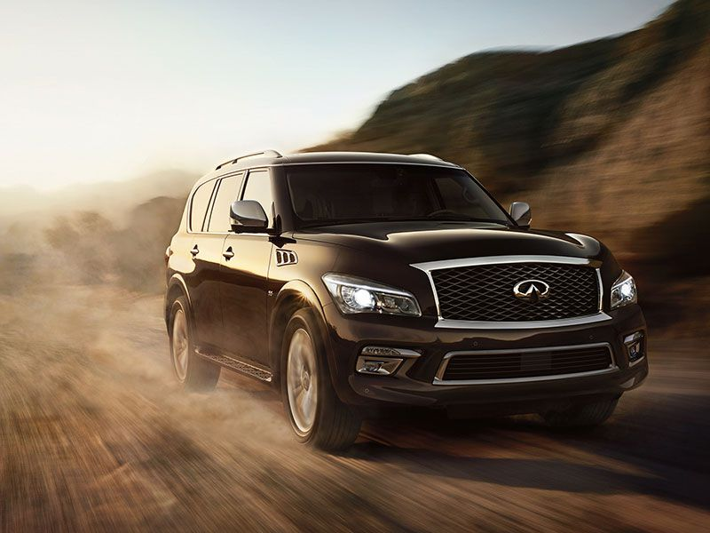 2016 Infiniti QX80 Road Test and Review
