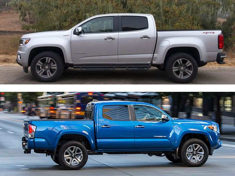 Chevrolet Colorado vs. Toyota Tacoma - Which is Best? | Autobytel.com