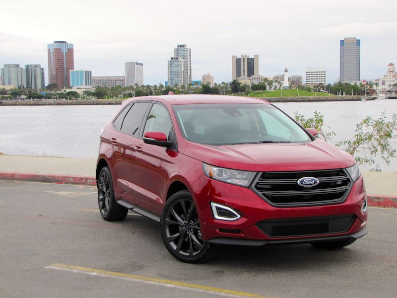2017 ford edge sport road test and review. Black Bedroom Furniture Sets. Home Design Ideas