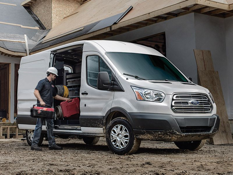 Ford Transit Front Construction on Ford Transit High Roof Cargo Van