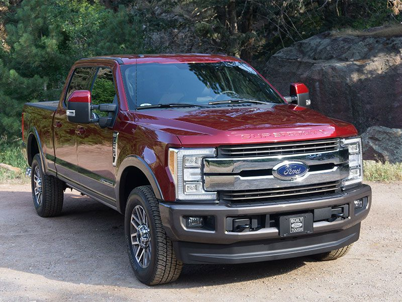 2017 Ford F-250 Super Duty 4x4 Crew Cab King Ranch Test Drive and Review