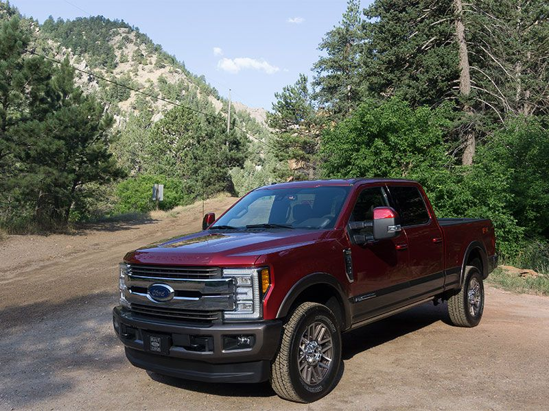 2017 ford f 250 super duty 4x4 crew cab king ranch test drive and review. Black Bedroom Furniture Sets. Home Design Ideas