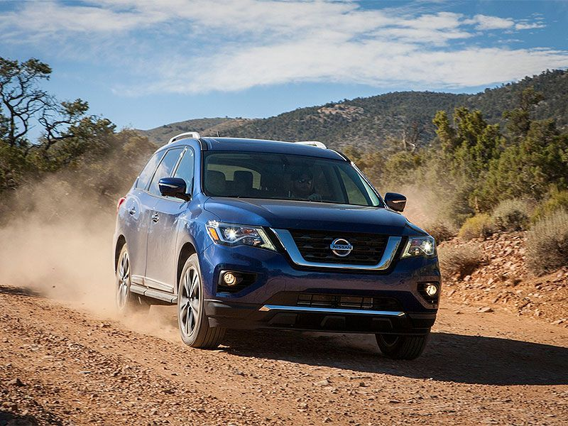 2017 Nissan Pathfinder Road Test and Review