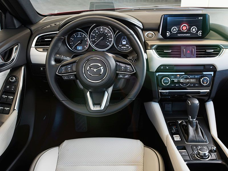 10 things you need to know about the 2017 mazda6. Black Bedroom Furniture Sets. Home Design Ideas
