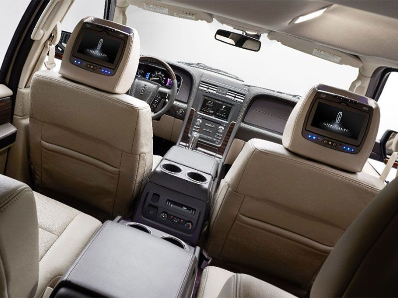 10 suvs with rear entertainment systems. Black Bedroom Furniture Sets. Home Design Ideas
