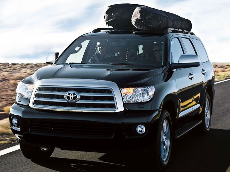2016 Toyota Sequoia roofracks