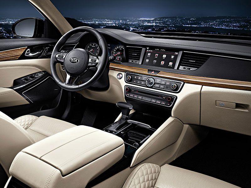 2017 Kia Cadenza Road Test And Review Autobytel Com