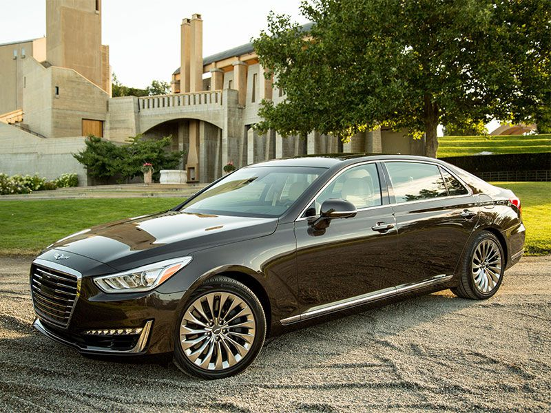 2017 genesis g90 road test and review. Black Bedroom Furniture Sets. Home Design Ideas