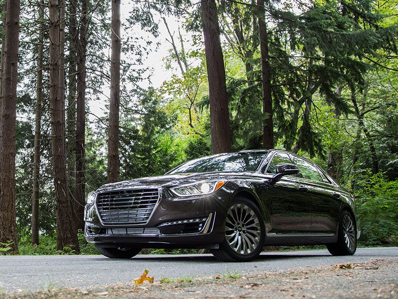 2017 Genesis G90 Road Test and Review