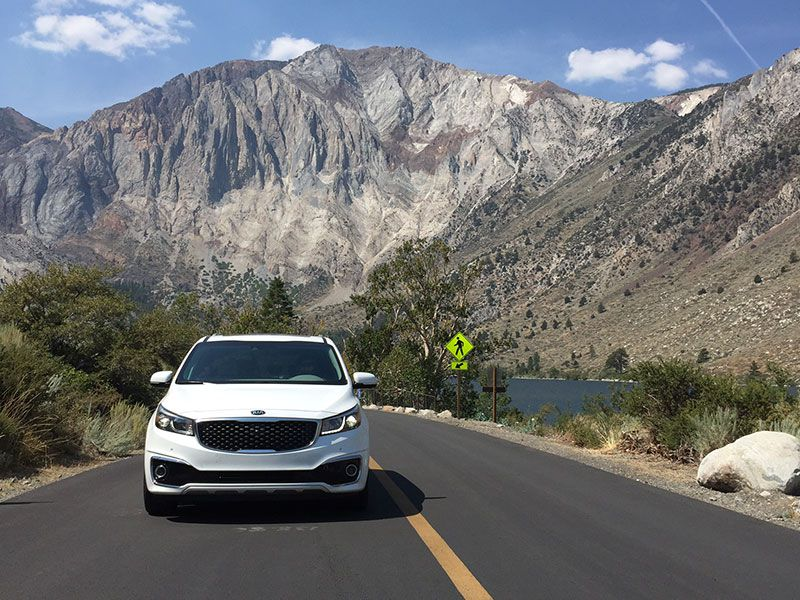 10 Reasons a Minivan is the Ultimate Family Vacation Car: 2016 Kia Sedona SXL