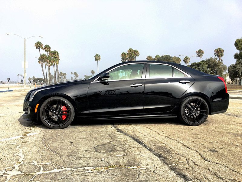 2016 Cadillac ATS Sedan profile by Carrie Kim