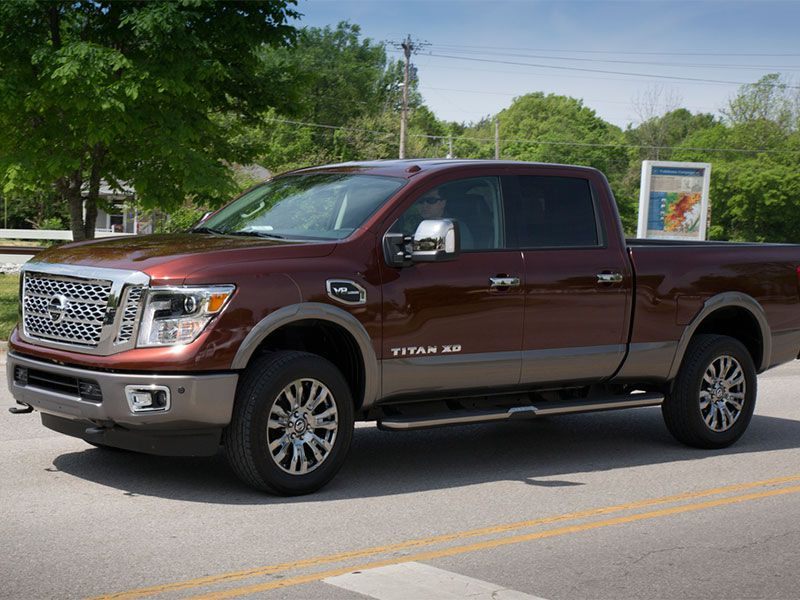 2016 nissan titan xd road test and review. Black Bedroom Furniture Sets. Home Design Ideas