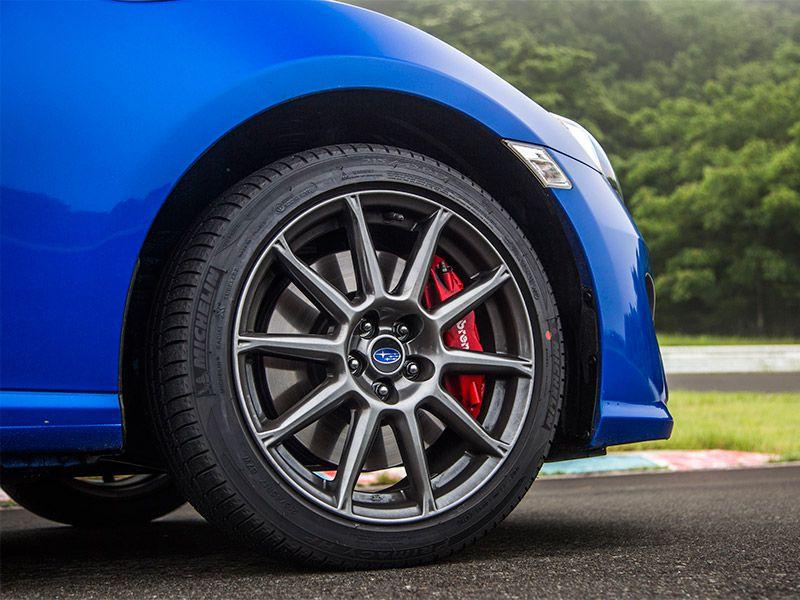 2017 Subaru BRZ alloy wheel