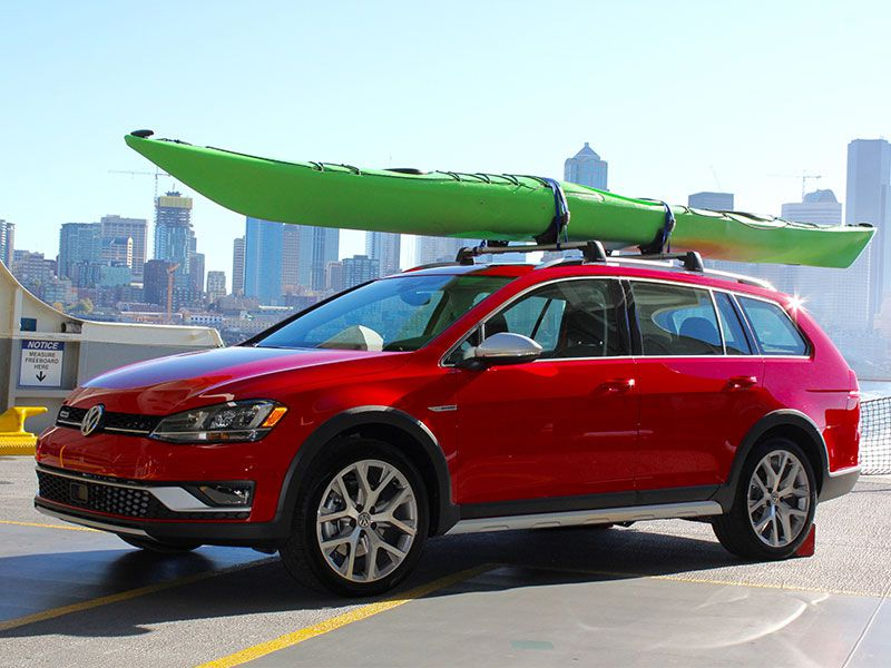 2017 Volkswagen Golf Alltrack Road Test and Review
