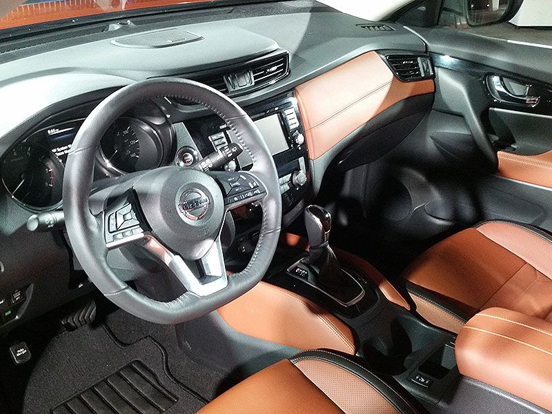 10 things you need to know about the 2017 nissan rogue - Nissan rogue sport 2017 interior ...