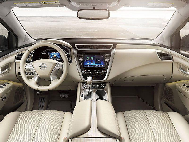 2016 nissan murano interior console cashmere leather