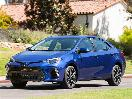2017 Toyota Corolla 3 4 front profile in motion