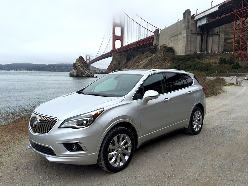 2017 Buick Envision Road Test and Review