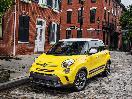 2017 Fiat 500L exterior front profile