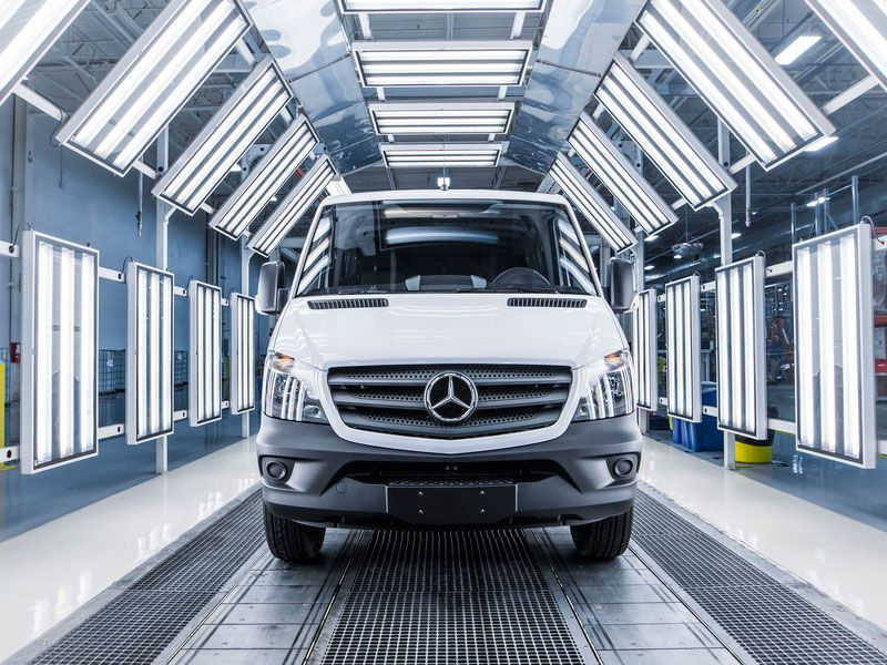 Pros and cons of the mercedes benz sprinter as a family for Mercedes benz made in germany