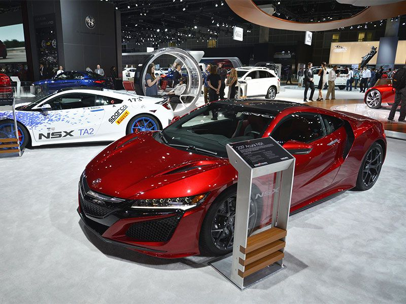 must see sports cars at the 2016 la auto show. Black Bedroom Furniture Sets. Home Design Ideas