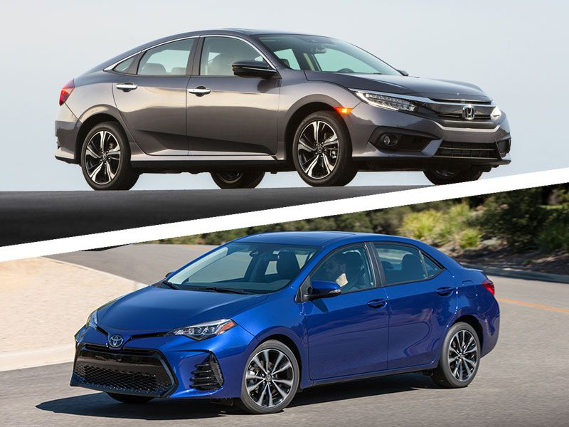 2017 honda civic vs 2017 toyota corolla which is best