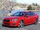 2017 Subaru Impreza exterior front angle by Miles Branman