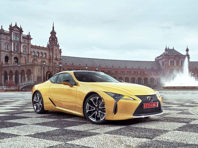 2018 Lexus LC Road Test and Review