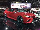 2018 Toyota Camry at Detroit Auto Show unveil by Andy Bornhop