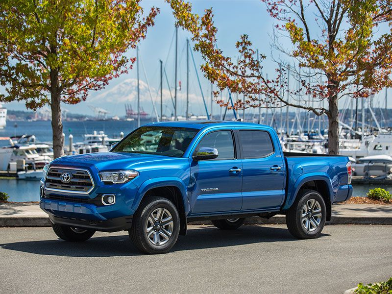 2017 Toyota Tacoma Road Test and Review