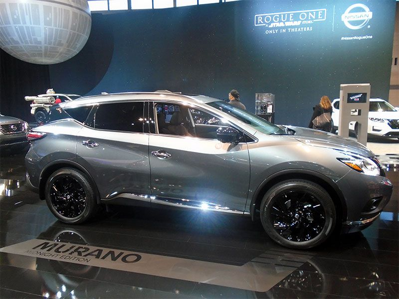2017 Nissan Murano Midnight Edition >> Must See Crossovers and SUVs at the 2017 Chicago Auto Show | Autobytel.com