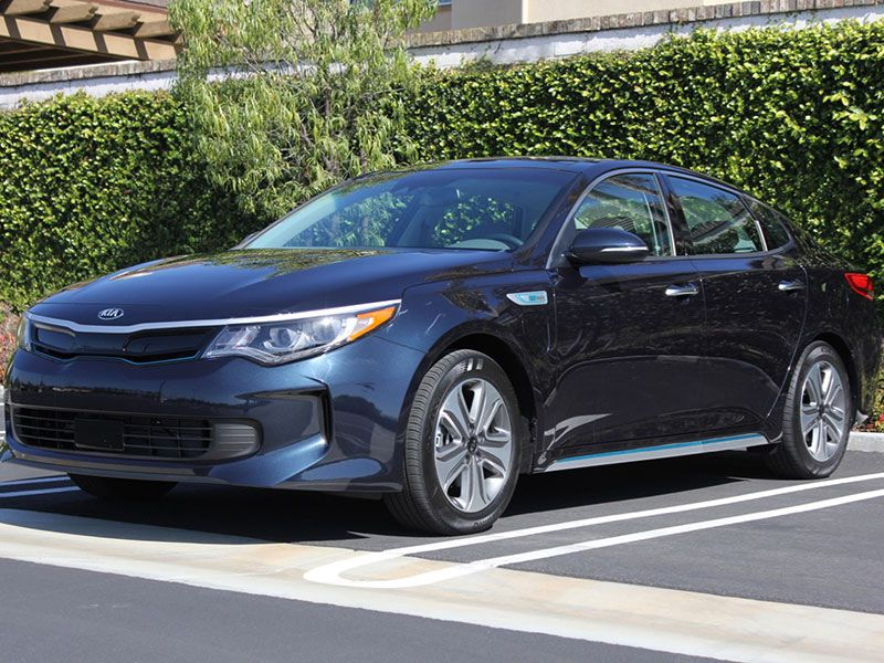 2017 kia optima plug in hybrid road test and review. Black Bedroom Furniture Sets. Home Design Ideas