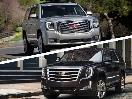 2017 Cadillac Escalade vs 2017 GMC Yukon Denali