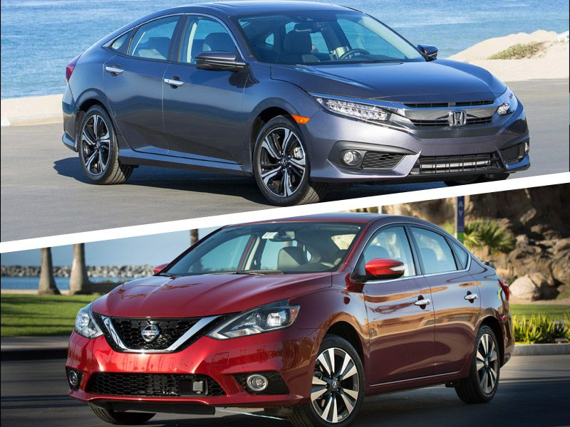 2017 honda civic vs 2017 nissan sentra which is best