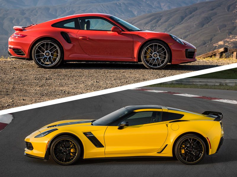 2017 Chevrolet Corvette vs 2017 Porsche 911: Which is Best?