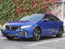 2017 Honda Civic Hatchback exterior front angle by Miles Branman