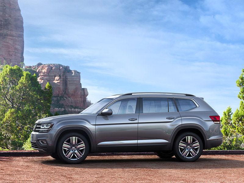 2018 volkswagen atlas road test and review. Black Bedroom Furniture Sets. Home Design Ideas