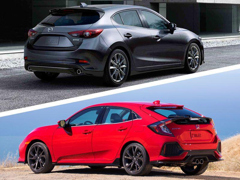 2017 Honda Civic Sedan Configurations >> 2017 Honda Civic vs 2017 Mazda3: Which is Best? | Autobytel.com