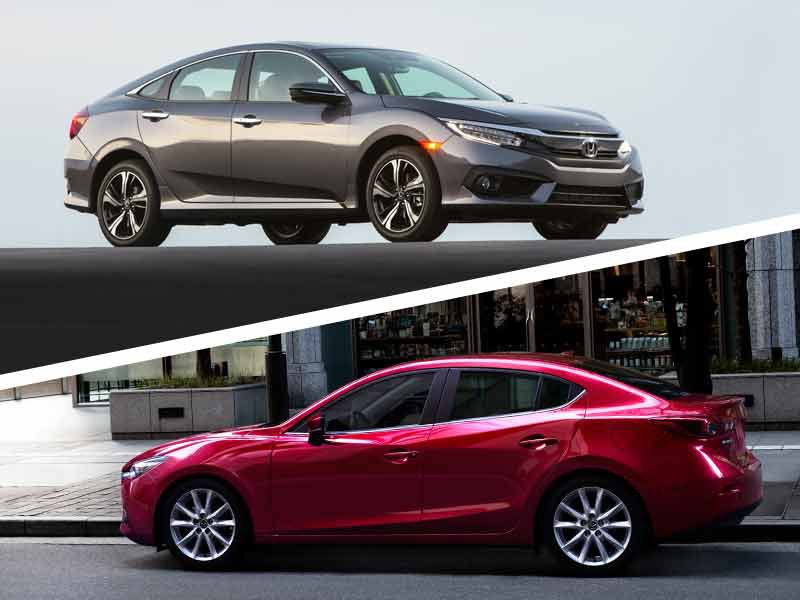 2017 Honda Civic vs 2017 Mazda3: Which is Best?