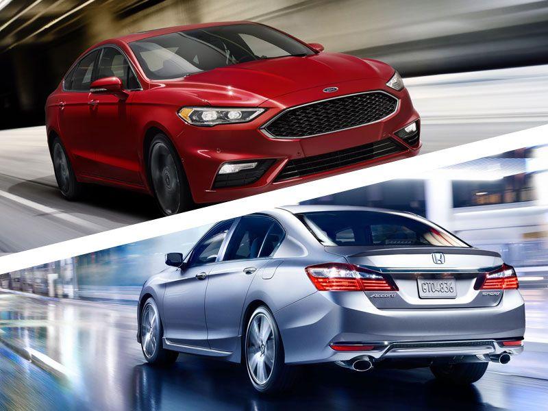 Honda Accord Vs Ford Fusion >> 2017 Honda Accord vs 2017 Ford Fusion: Which is Best? | Autobytel.com