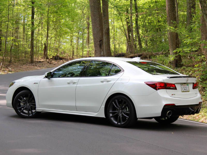 2018 acura tlx road test and review. Black Bedroom Furniture Sets. Home Design Ideas